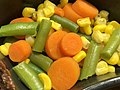 2020-07-17 00 33 36 Mixed vegetables from a Hungry Man Home-Style Meatloaf meal in Rochelle Park, Bergen County, New Jersey.jpg
