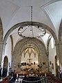 218 Església vella de Santo Tomás de Canterbury (Sabugo, Avilés), interior de la nau.jpg