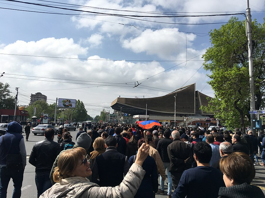 22.04.2018 Protest Demonstration, Yerevan 02.jpg
