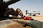 24th MEU Deployment 2012, Ospreys refuel Abrams with RGR 120722-M-RU378-077.jpg
