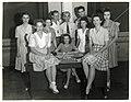 275 War Bond sellers, Tyndall Field, Florida WWII (5967179755).jpg