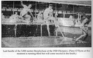 Patrick Flynn (athlete) - 3,000m steeplechase 1920 Olympics Antwerp