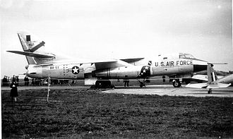 30th Reconnaissance Squadron - Douglas RB-66 54-511 at Spangdahlem AB, West Germany, 1958