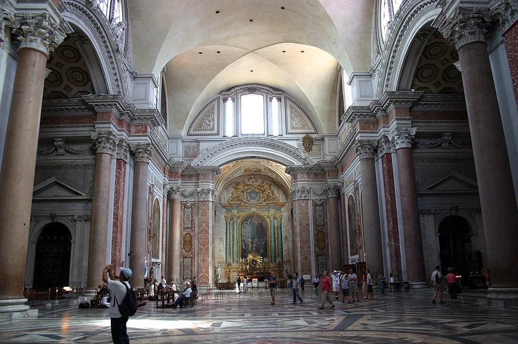 3222 - Roma - Santa Maria degli Angeli - Interno - Foto Giovanni Dall'Orto 17-June-2007
