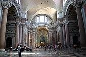 Interno della Basilica di Santa Maria degli Angeli e dei Martiri a Roma