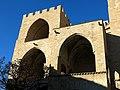 348 Torres dels Serrans (València), cara sud, torre de ponent i cos central.jpg