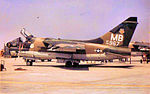 356th Tactical Fighter Squadron A-7D 70-967 at Korat.jpg