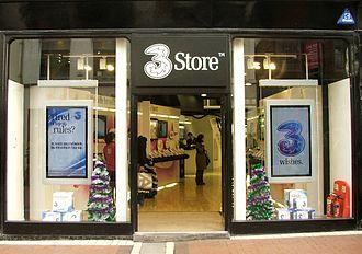 Hutchison 3G - 3 Store, Grafton Street, Dublin, Ireland