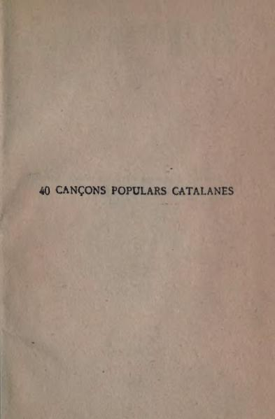 File:40 cançons populars catalanes (1909).djvu