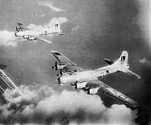 452d Operations Group - B-17s of the 452d Bomb Group.