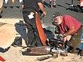 460cc Maico engined chainsaw (3911623150).jpg