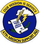 47 Mission Support Sq emblem.png