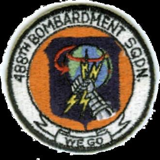 488th Bombardment Squadron - Emblem of the 488th Bombardment Squadron (SAC)