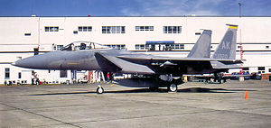 54th Fighter Squadron - Image: 54th Tactical Fighter Squadron Mc Donnell Douglas F 15C 30 MC Eagle 81 0020