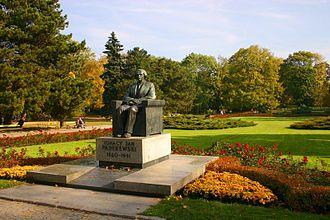 Ignacy Jan Paderewski - Monument to Paderewski in Warsaw's Ujazdów Park