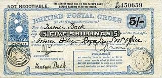 Postal order