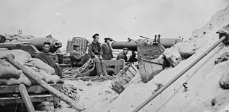 Siege artillery in the American Civil War - Battery of 5-inch Whitworth rifles on Morris Island during campaign against Charleston harbor.