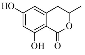 6-Hydroxymellein - Image: 6 Hydroxymellein