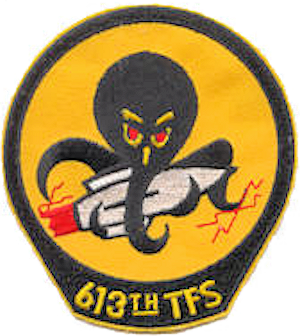 613th Tactical Fighter Squadron - Emblem of the 613th Tactical Fighter Squadron