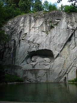 6308 - Luzern - Löwendenkmal