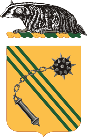 632nd Armor Regiment - Coat of Arms