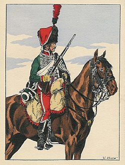French hussar from 1804