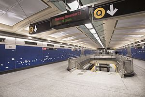 96th Street (Second Avenue Subway) - Mezzanine level