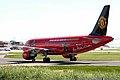 9M-AFC A320-214 Air Asia 5 (MUFC logojet left side rear) MAN 05APR06 (5822407658).jpg
