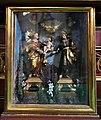 A-337 Alwernia, kościół bernardynów - woskowe figury w szklanej skrzynce.jpg