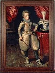Portrait of Willem van Nassau-Lalecq (1601-1627)