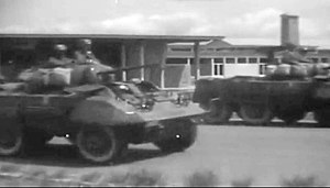 Armed Forces of the Democratic Republic of the Congo - Armée nationale congolaise (ANC) armoured vehicles during the Congo Crisis