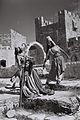 AN ORIENTAL DANCE PERFORMED BY THE RINA NIKOVA BALLET AT THE CITADEL IN JERUSALEM. ריקוד מזרחי בביצוע להקת המחול של רינה ניקובה, על רקע חומות ירושלים.D827-054.jpg