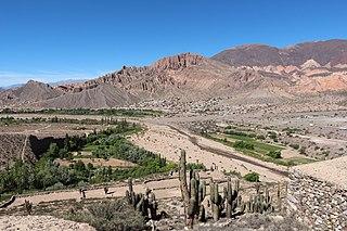 valley in Argentina