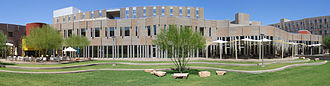 Arizona State University - Example of a new academic village, taken at Barrett, The Honors College on the Tempe Campus