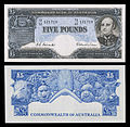 AUS-31-Commonwealth Bank of Australia-Five Pounds (1954).jpg