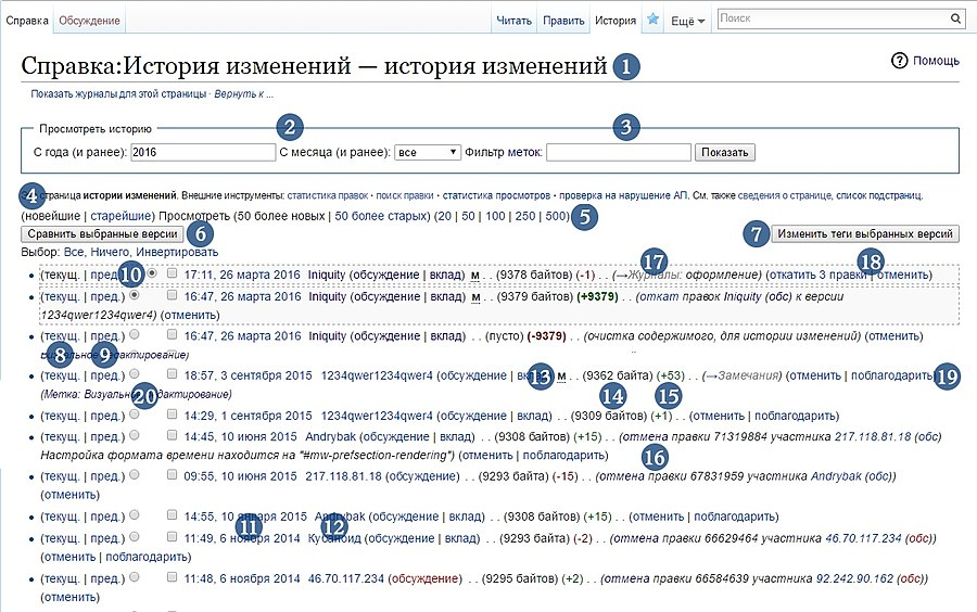 A MediaWiki's history page (rus).jpg