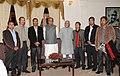 A delegation of Naga Students Federation meeting the Vice President, Shri Mohd. Hamid Ansari, in Kohima, Nagaland on September 19, 2010.jpg