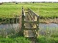 A footbridge in the Ham Marshes - geograph.org.uk - 1268856.jpg