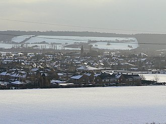 Gotham, Nottinghamshire - Image: A glint of sunshine geograph.org.uk 1171291