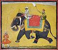 A raja riding an elephant (6124557961).jpg