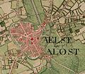 Aalst, Belgium ; Ferraris Map.jpg