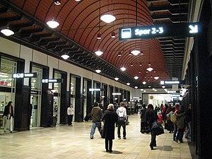 Aarhus Central Station - Image: Aarhus Hafgangshallen