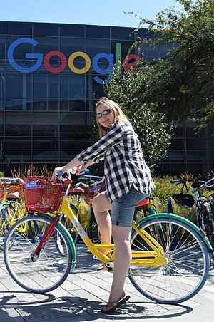 Abbie Hutty - Abbie Hutty at Google, Mountain View