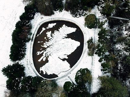 Foto del Mapa Scotland