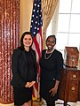 Acting Under Secretary of State Michelle Giuda with Assistant Secretary Taylor.jpg