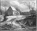 Adam Frans van der Meulen (Nachahmer) - Winterlandschaft mit kämpfenden Reitern - 6393 - Bavarian State Painting Collections.jpg