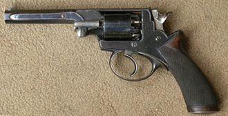 Robert Adams (handgun designer) - Adams cal .36 revolver
