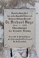 Adlwang Pfarrheim Gedenktafel Michael Mayr.jpg