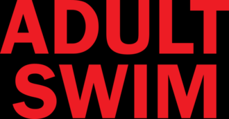 Adult Swim - The first Adult Swim logo, used from September 2, 2001, to  February 23, 2002.
