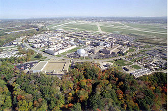 Glenn Research Center - Image: Aerial View of Glenn Research Center at Lewis Field GPN 2000 002008